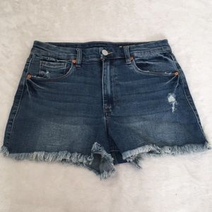 Blank NYC High-Rise Shorts
